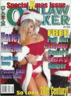 Outlaw Biker Magazine   Issue 129 (1999): Special Xmas Issue, Harley Rendezvous, and More! (Single Issue Magazine): Editors of Outlaw Biker: Books