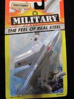 F 132 Tornado Fighter RAF Matchbox Feel of Real Steel Series 1996 : Other Products : Everything Else