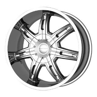 "KMC Wheels Surge KM6652 Chrome Finish Wheel (20x9""/5x139.7mm): Automotive"