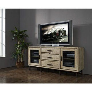 "Blair 69"" TV Stand Finish: Weathered Vellum   Home Entertainment Centers"
