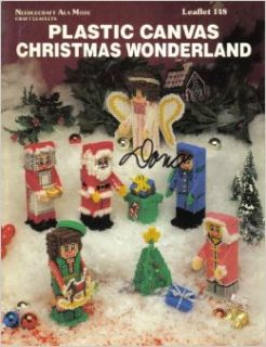 Plastic Canvas Christmas Wonderland (Needlecraft Ala Mode, Leaflet 148): Needlecraft Ala Mode: Books