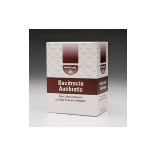 4182676  WJBA1728 Ointment First Aid Bacitracin Zinc 500 Units 0.9gm 144 Per Box by Waterjel Technologies  Part no. WJBA1728  4182676: Industrial & Scientific