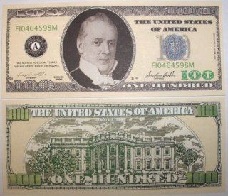 Set of 10 Bills One Hundred Dollar Bill: Toys & Games