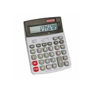 "Compucessory : 12 Digit Desktop Calculator,Dual Power,5 4/5""x7 3/5""x2""  :  Sold as 2 Packs of   1   /   Total of 2 Each: Everything Else"