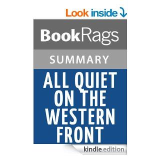All Quiet on the Western Front Summary & Study Guide  Erich Maria Remarque eBook BookRags Kindle Store