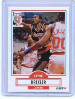 1990 91 Fleer #154 Clyde Drexler: Sports Collectibles