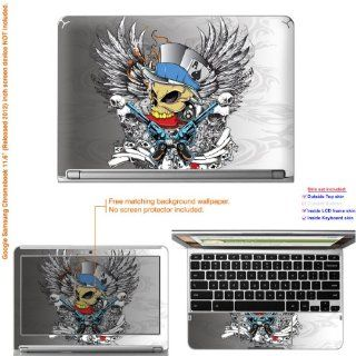"Decalrus   Matte Decal Skin Sticker for Google Samsung Chromebook with 11.6"" screen (IMPORTANT read: Compare your laptop to IDENTIFY image on this listing for correct model) case cover Mat_Chromebook11 148: Computers & Accessories"