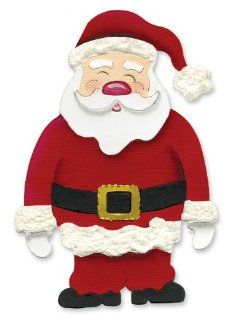 Sizzix Originals Die Santa Claus Large By The Package Arts, Crafts & Sewing