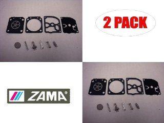 Genuine Zama RB 159 Carburetor C1M H65 Repair Kit for Homelite 45cc Chainsaw (2 Pack)