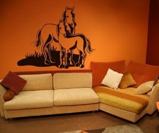 Vinyl Wall Decal Sticker Horse and Pony OS_DC159s   Wall Decor Stickers