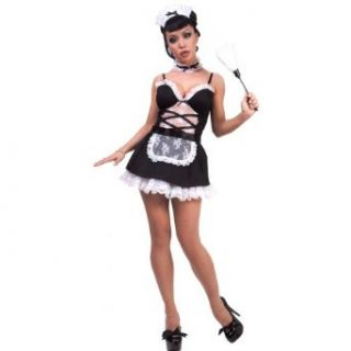 Lip Service Sexy French Maid Costume: Clothing