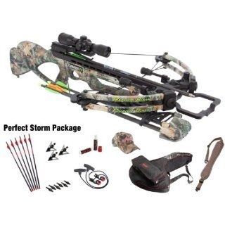 Parker Compound Bows 12 Tornado F4 165# Crossbow Pkg W/Ill M.R. Scope Perfect Storm  Sports & Outdoors