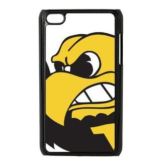 NCAA Iowa Hawkeyes Logo Unique Durable Hard Plastic Case Cover for Apple iPod Touch 4 Custom Design UniqueDIY: Cell Phones & Accessories