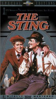 The Sting [VHS]: Paul Newman, Robert Redford, Robert Shaw, Charles Durning, Ray Walston, Eileen Brennan, Harold Gould, John Heffernan, Dana Elcar, Jack Kehoe, Dimitra Arliss, Robert Earl Jones, George Roy Hill, David Brown, Julia Phillips, Michael Phillips