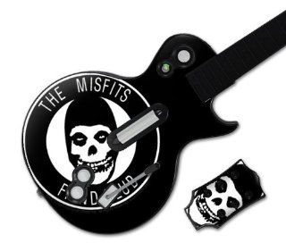 Zing Revolution MS MISF20026 Guitar Hero Les Paul  Xbox 360 and PS3  Misfits  Fiend Club Skin: Video Games