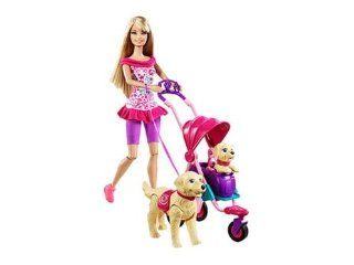 Barbie doll Barbie Strollin 'Pups Set parallel import goods (japan import): Toys & Games
