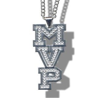 WWE MVP Silver Diamonds Logo Pendant : Other Products : Everything Else