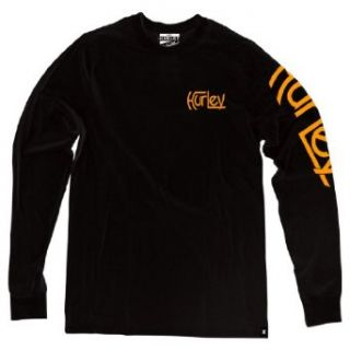 Hurley Original Working Man L/S T Shirt   Black   Size Medium at  Men�s Clothing store