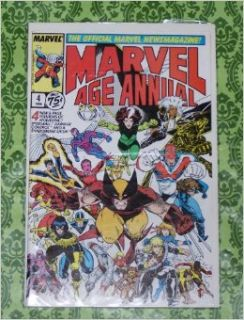 Marvel Age Annual #4 (Arthur Adams X Men Cover   Marvel Comics): Tom DeFalco: Books