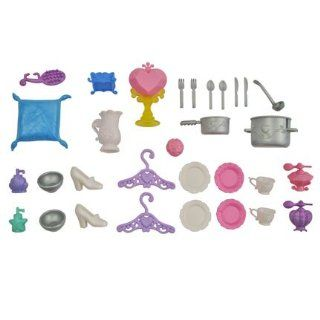 BARBIE DISNEY PRINCESS Replacement DREAM CASTLE ACCESSORIES: Everything Else