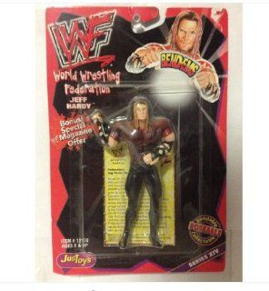 JusToys Wrestling Bend Ems Series XIV   Jeff Hardy Item# 12178: Toys & Games