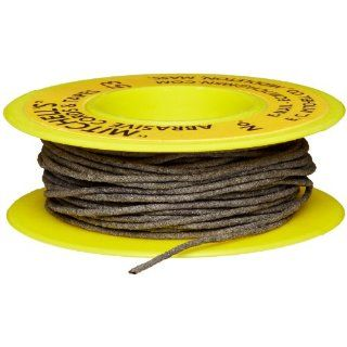 "E.C. Mitchell Abrasive Cord Aluminum Oxide .040"" Diameter 180 Grain 53 25 Feet: Industrial & Scientific"