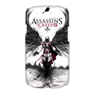 Custom Assassins Creed 3D Cover Case for Samsung Galaxy S3 III i9300 LSM 183: Cell Phones & Accessories
