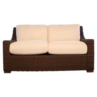 Lloyd Flanders Mesa All Weather Wicker Loveseat   Patio Chairs