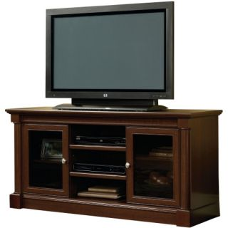 Sauder Palladia Entertainment Credenza   Cherry   TV Stands