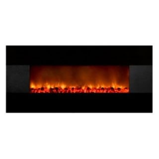 Yosemite Home Decor Symphonic Carbon 59 Wall Mount Electric Fireplace   Electric Fireplaces