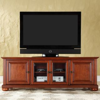 Crosley Alexandria 60 in. Low Profile TV Stand   Classic Cherry   TV Stands