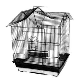A&E Cage Co. House Top Bird Cage   Bird Cages