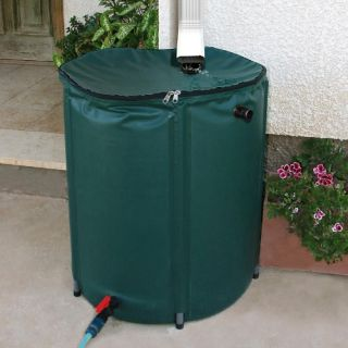 Heaven & Earth 104 Gallon Knock Down Rain Water Barrel   Rain Barrels