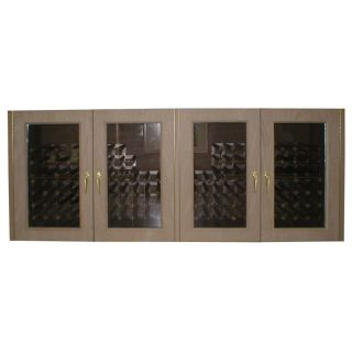 Vinotemp 400G Credenza Glass Four Door 304 Bottle Wine Cooling Cabinet   Wine Coolers