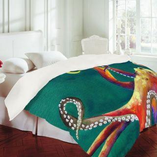 DENY Designs Clara Nilles Mardi Gras Octopus Duvet Cover   DO NOT USE