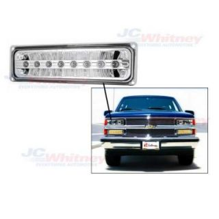 1998 2000 Toyota Tacoma Bumper Light   In Pro Car Wear, Direct fit, Clear lens