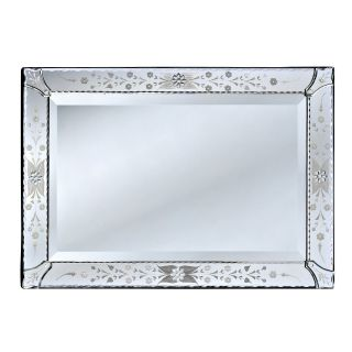 Rosa Venetian Wall Mirror   21W x 30H in.   Wall Mirrors