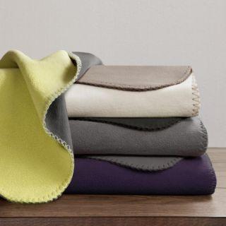 JLA Home Premier Comfort Reversible Micro Fleece Blanket   Blankets