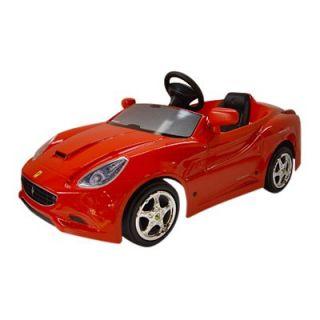 Big Toy Ferrari California Pedal Car   Pedal Toys