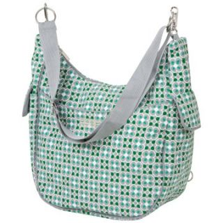 Bumble Collection Chloe Convertible Cruiser Diaper Bag in Lucky Clover   Tote Diaper Bags