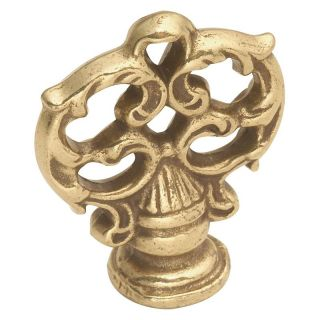 Hickory Hardware French Provincial Mock Key Knob   Cabinet Knobs