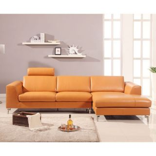 Angela Upholstered Sectional   Right Arm Facing   Sectional Sofas