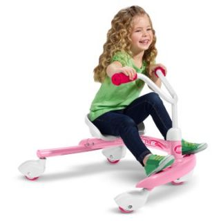 Radio Flyer Pink Ziggle   Riding Push Toys