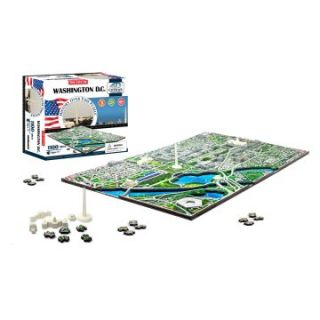 4D Cityscape Skyline Time Puzzle   Washington DC   3D Puzzles