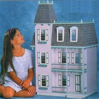 Real Good Toys Alison Jr Dollhouse Kit   1 Inch Scale   Collector Dollhouse Kits