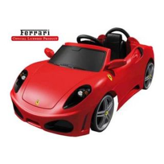 Feber Ferrari F430 6 Volt Battery Operated Car Riding Toy   Battery Powered Riding Toys