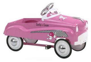 InSTEP Pink Pedal Car   Pedal Toys