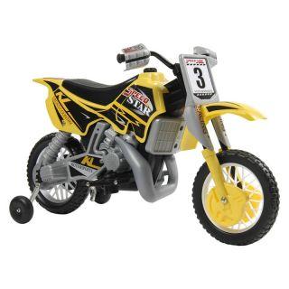 Kalee Dirt Bike 12 Volt Riding Toy   Battery Powered Riding Toys
