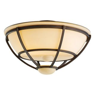 Monte Carlo MC211RB L Cage Outdoor Light Kit   Roman Bronze   Ceiling Fans
