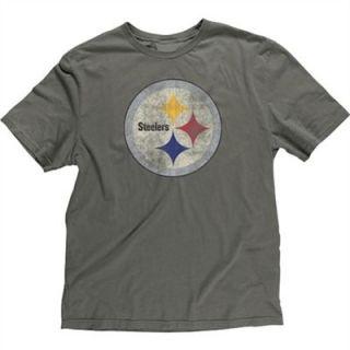 Reebok Pittsburgh Steelers Super Soft Big Logo T Shirt